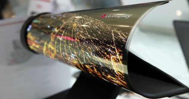 Paneles OLED flexibles de Samsung