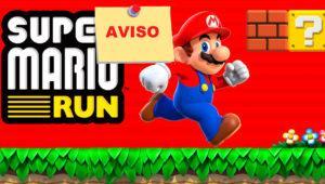 Cómo recibir un aviso para descargar Super Mario Run en Google Play