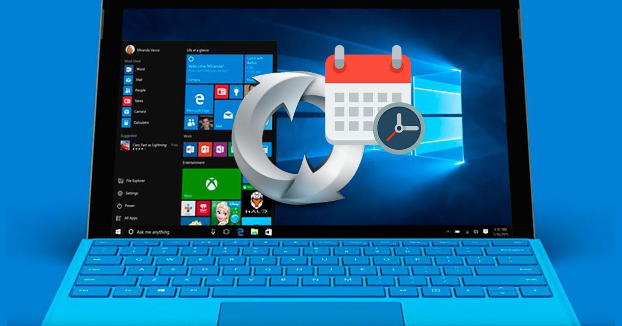 Aplazar actualizaciones Windows 10