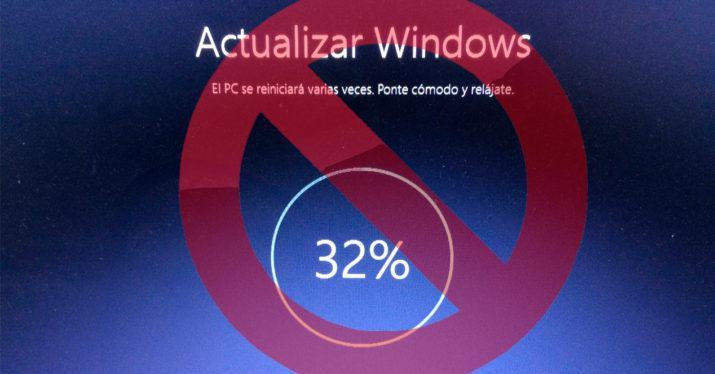 bloquear actualizaciones windows 10