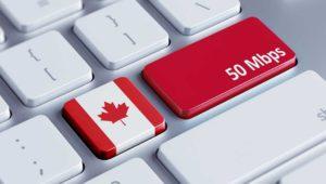 Canadá declara Internet como un servicio básico y garantizará 50 Mbps