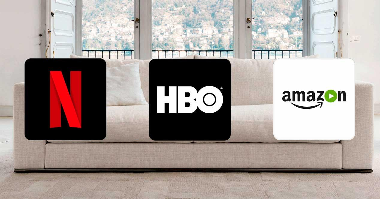 Netflix vs HBO España vs Amazon Prime Video