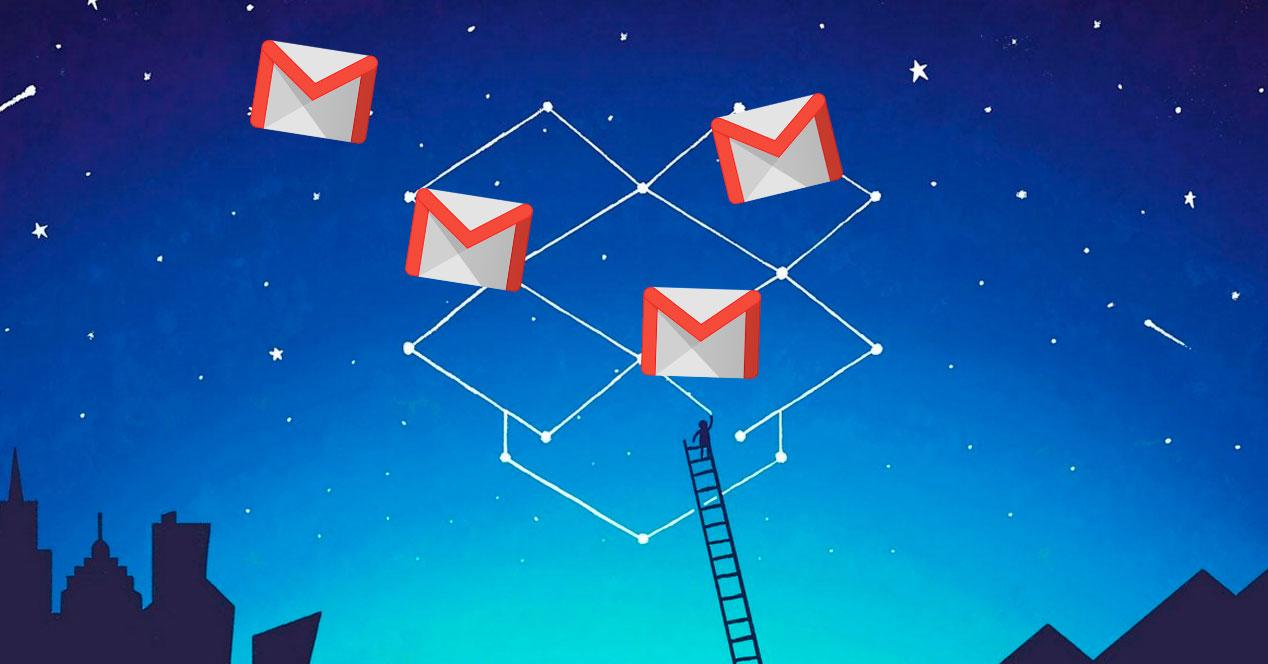 copia de Gmail en Dropbox