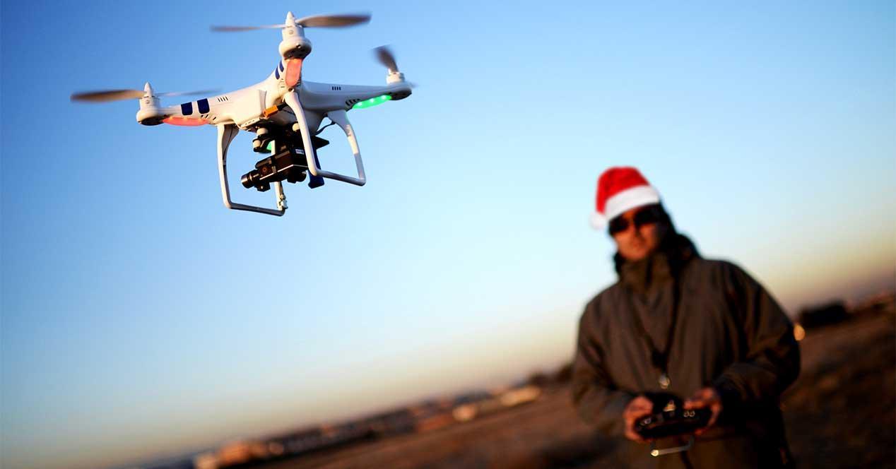 drone-navidad-regalo