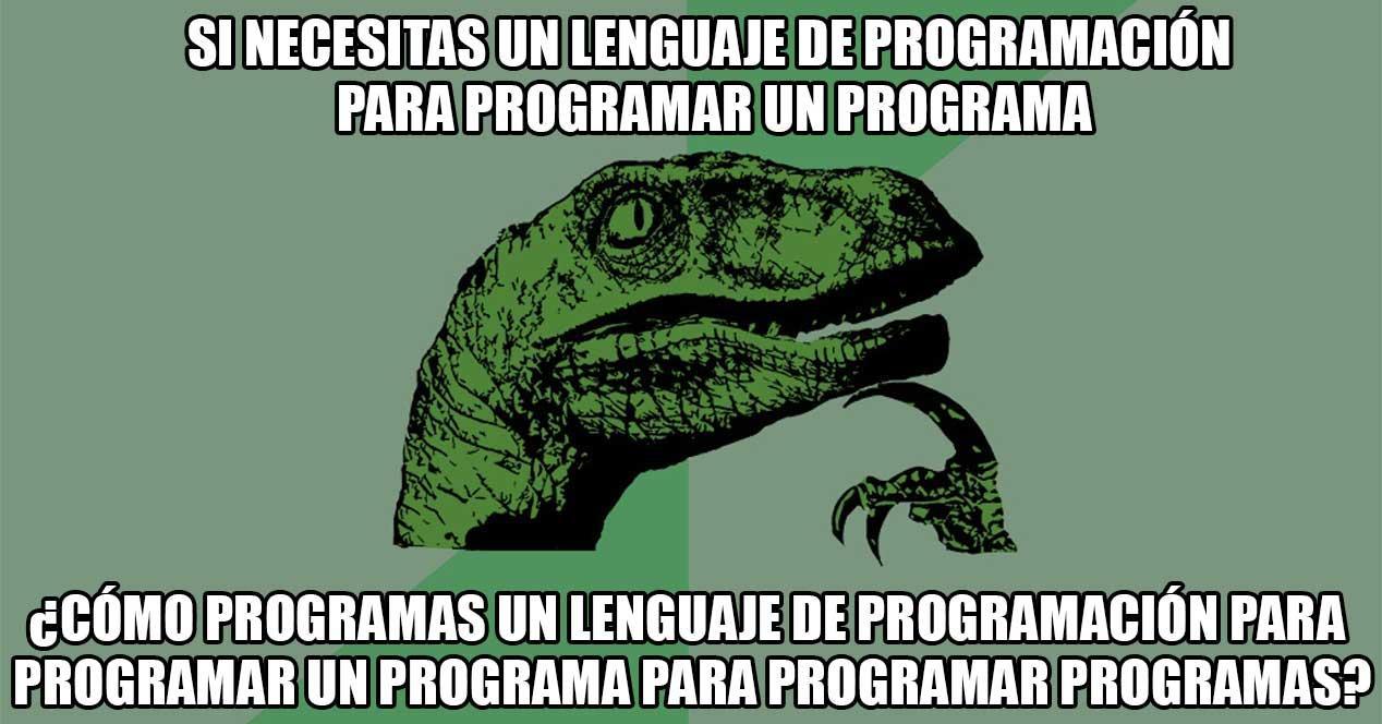 filosoraptor-programación