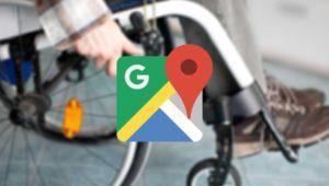 Google Maps te dirá qué sitios son accesibles en silla de ruedas