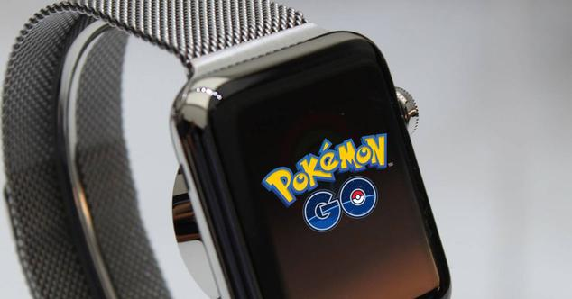 Pokemon Go en el Apple Watch