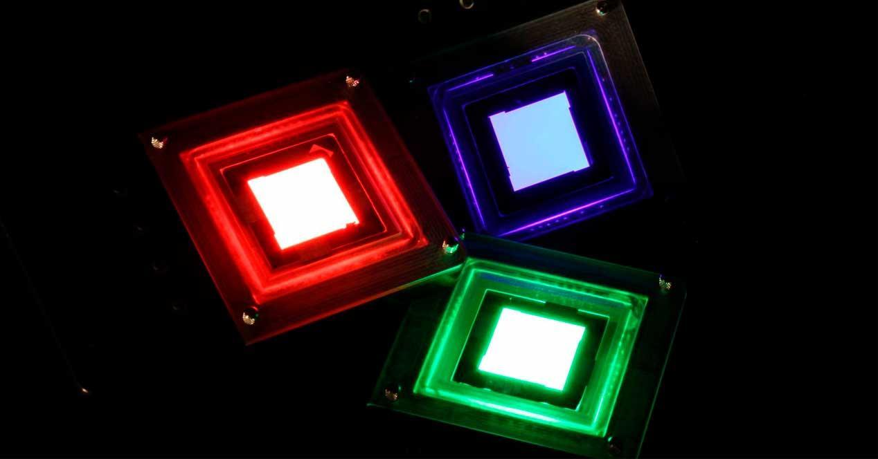 LED inorgánico