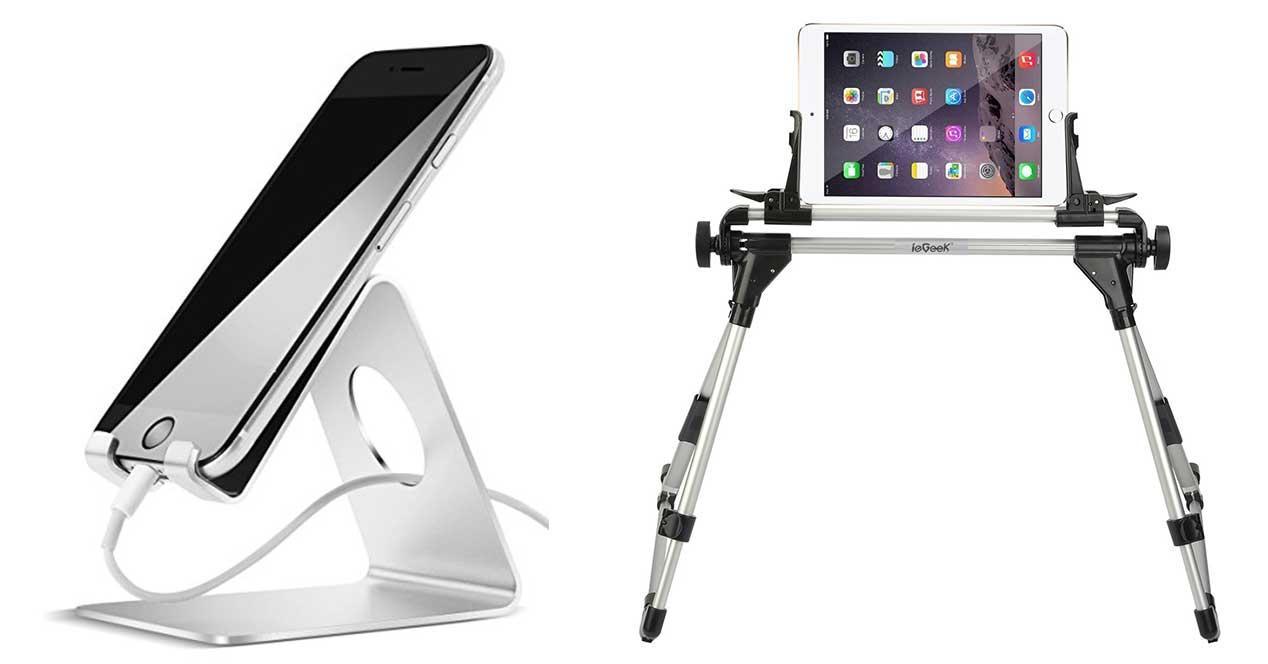 Ideas de regalos para el amigo invisible por menos de 20 euros - Soporte tablet cama ...