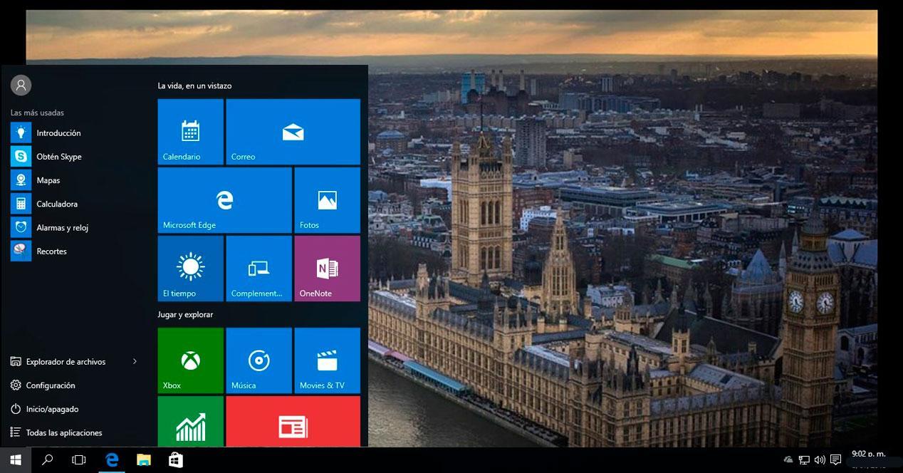 temas Windows 10