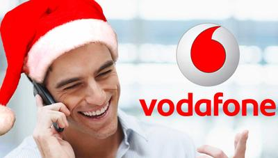 ¡Gratis! Vodafone regala 10 gigas esta Navidad a sus clientes prepago