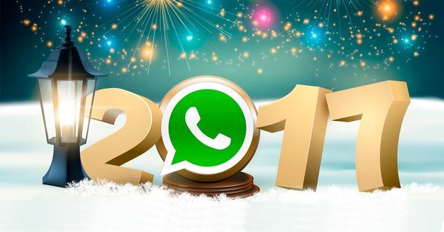 Feliz Año por WhatsApp