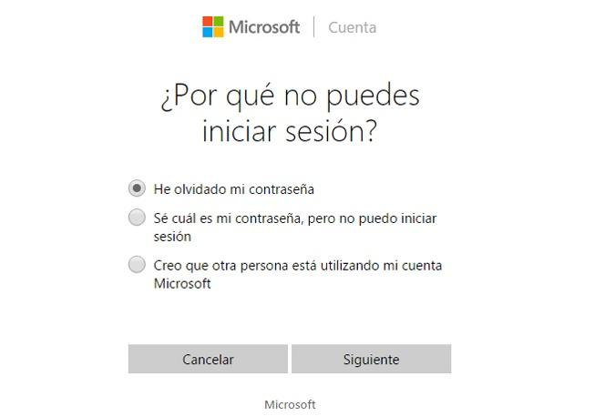 recuperar contraseña Windows 10
