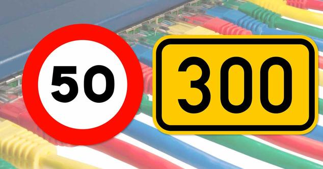 300 megas de velocidad