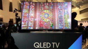 Samsung pasa de las OLED y anuncia sus primeras TV QLED para 2017