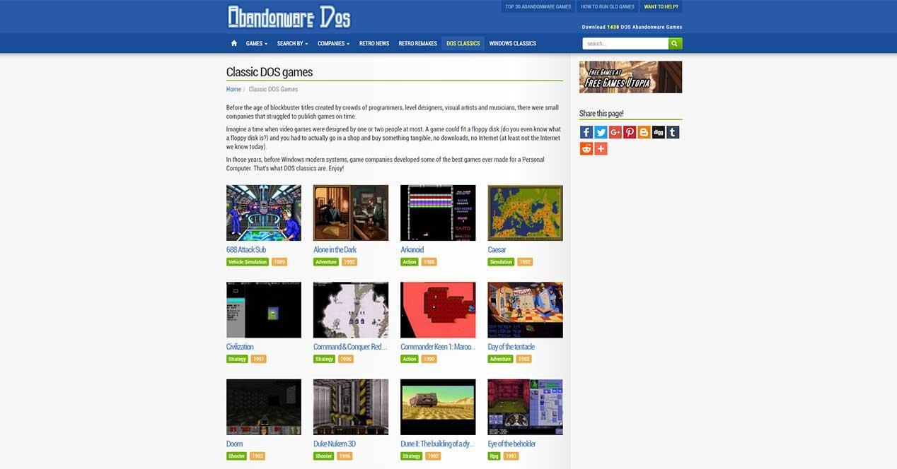 Las 5 Mejores Webs Para Descargar Juegos Gratis De Pc Antiguos