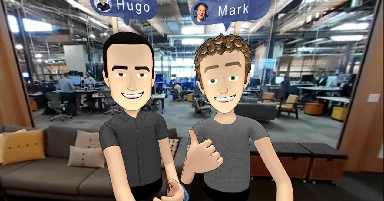 Hugo Barra y Mark Zuckerberg