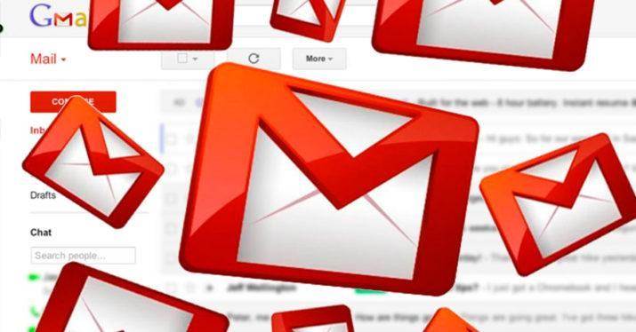 recuperar espacio Gmail