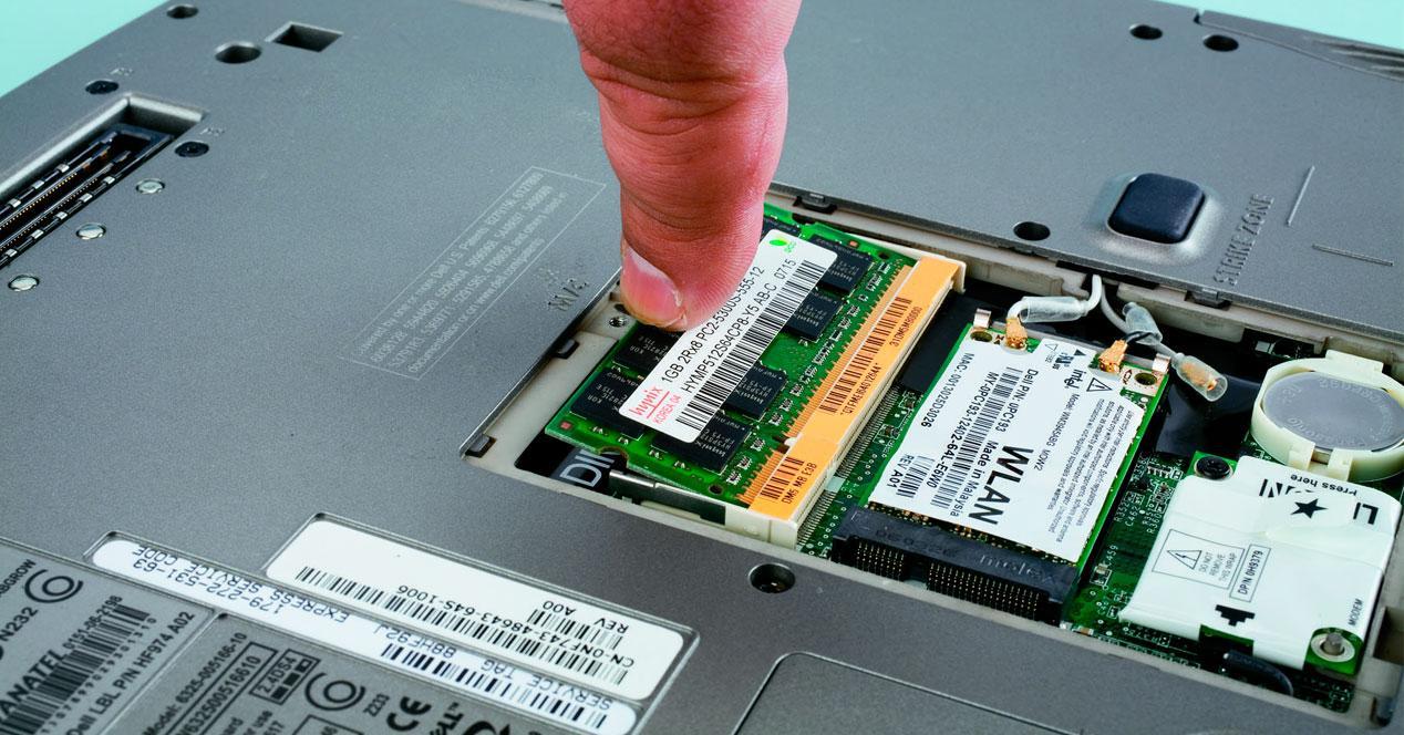tarjetas de memoria ram para portatiles