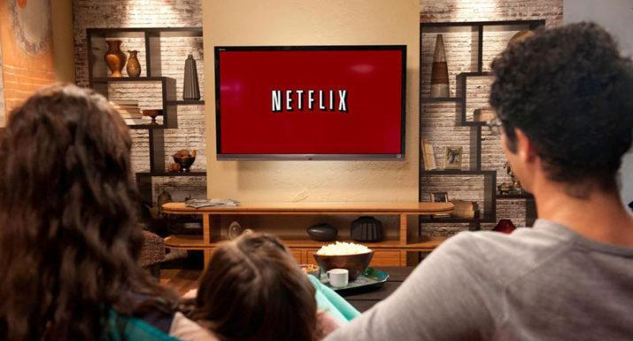 Viendo cine Netflix