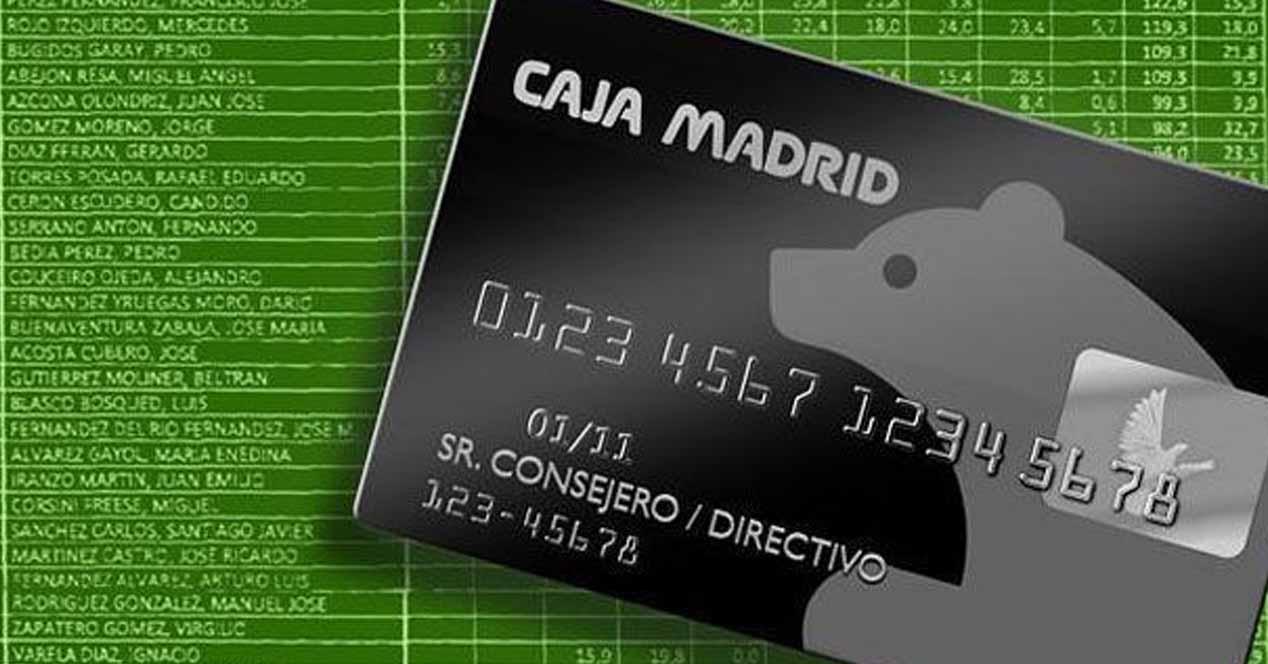 tarjetas black caja madrid