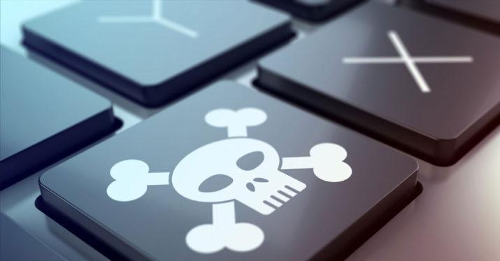 Piratería teclado