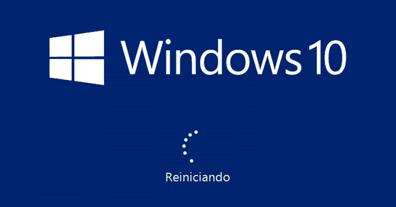 reinicio Windosws 10