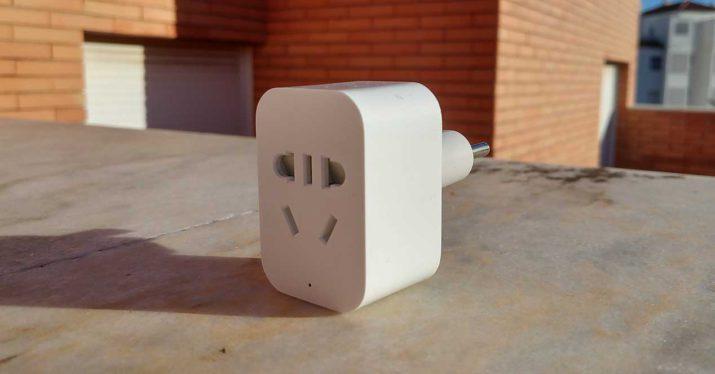 xiaomi smart socket trasera