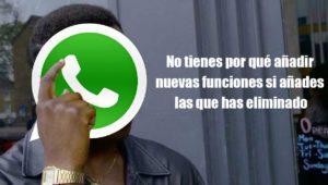 WhatsApp recula: vuelven los antiguos Estados