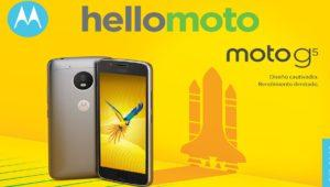 Lenovo Moto G5 y Moto G5 Plus: Características técnicas oficiales