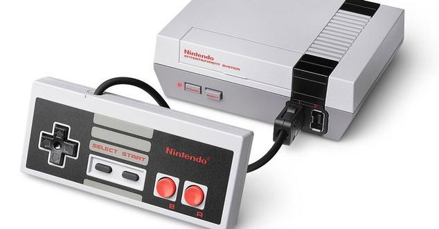 Nintendo NES con mando