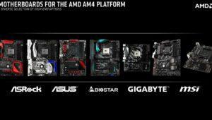 AM4: así son las placas base de AMD Ryzen con chipset X370 y B350