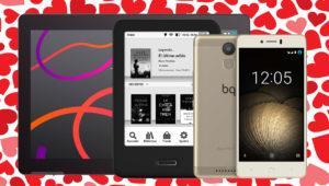 Ofertas de BQ para pasar un San Valentín romántico y tecnológico