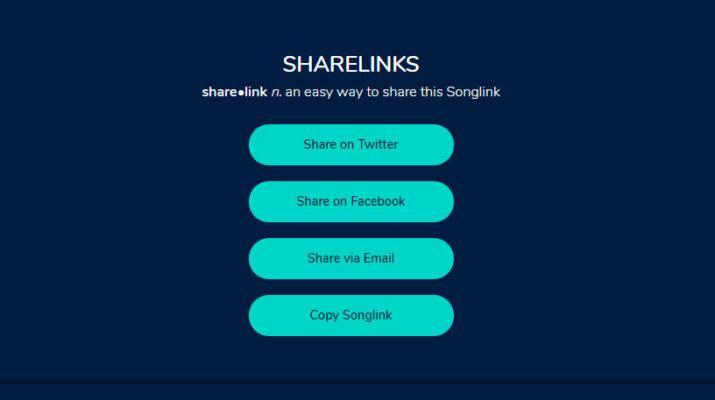 compartir música songLink