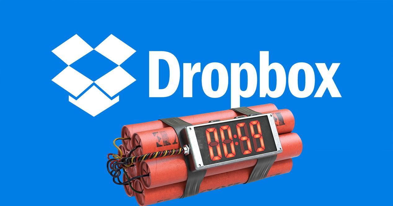 dropbox bomba de relojeria