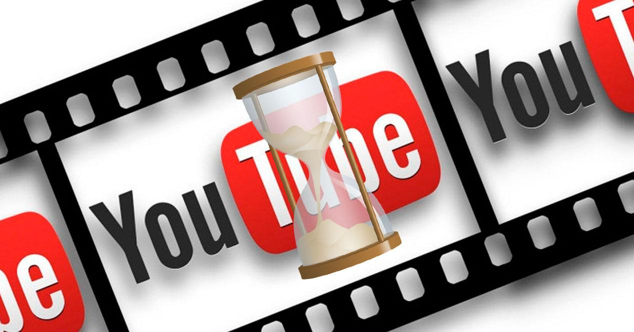 duración vídeos youtube
