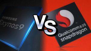 Comparativa: Exynos 8895 vs Snapdragon 835 ¿qué procesador es mejor?