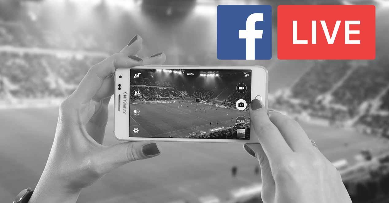 facebook live futbol