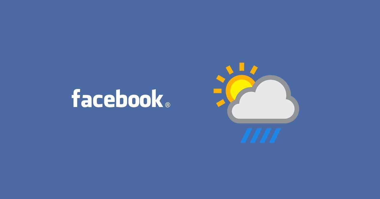 Facebook quiere sustituir a tu aplicaci n del tiempo for Aplicacion del clima