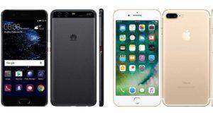 ¿Se parece peligrosamente el Huawei P10 al iPhone 7?