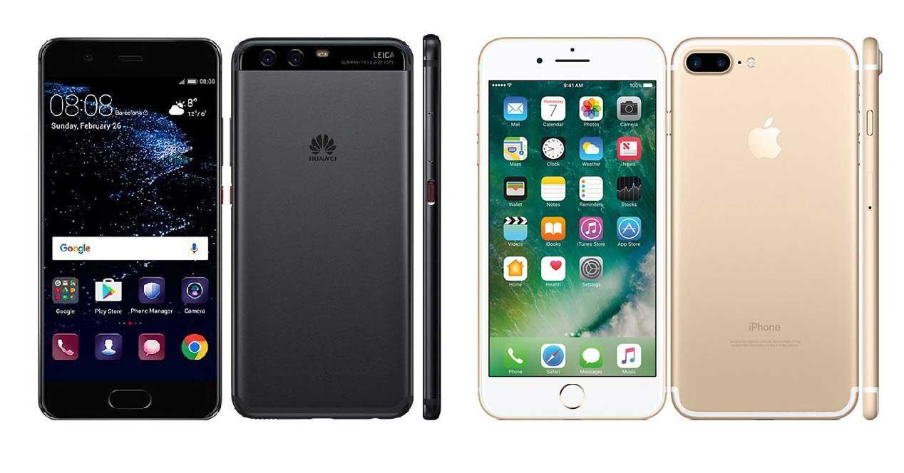huawei-p10-iphone-7
