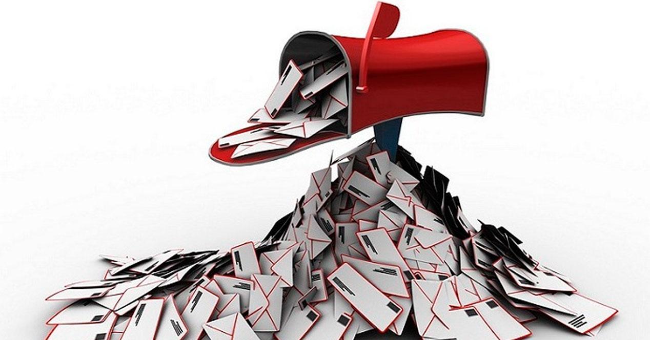 limpiar correo