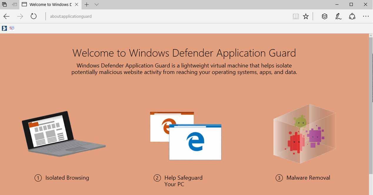 microsoft windows defender application guard