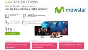 Nuevo Movistar Fusión+2 Ficción con 8 canales de películas y series