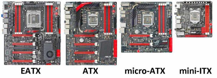 placa base atx vs micro atx