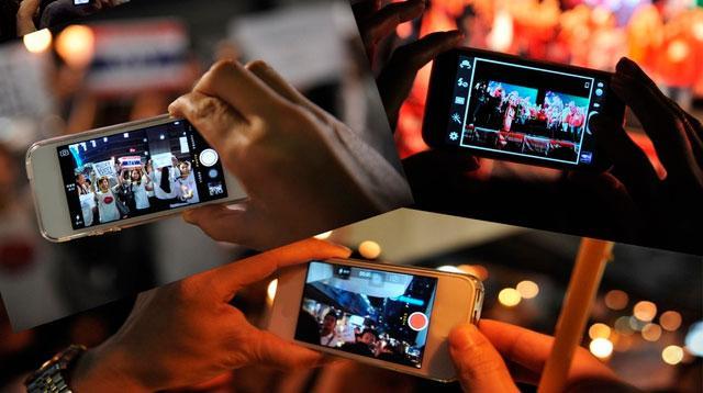 vídeo con el móvil