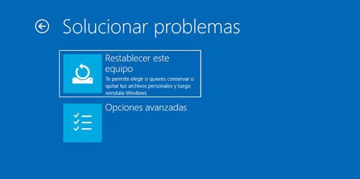 Inicio rápido Windows 10