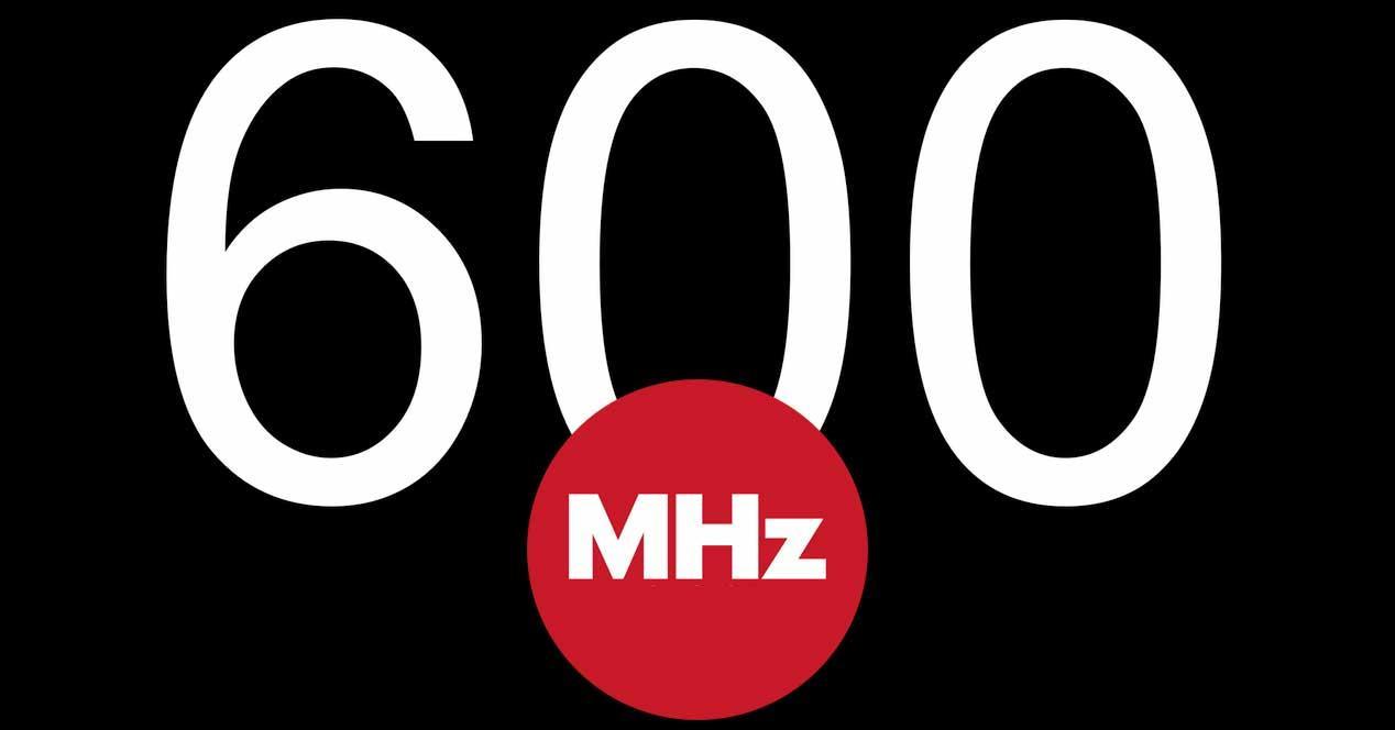 600 MHz