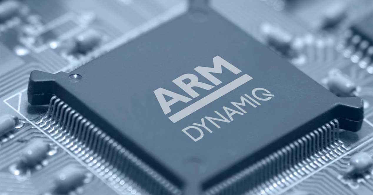 ARM DynamIQ chip