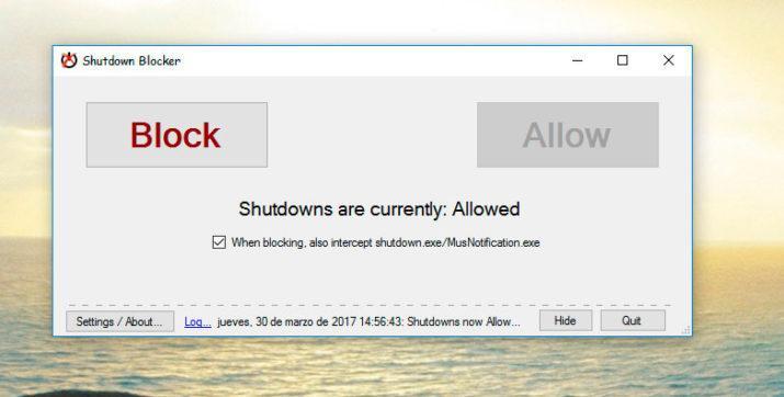 Windows se reinicie